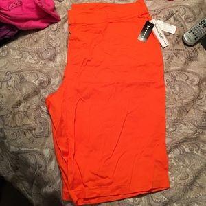 Pants - Must bundle—Orange shorts